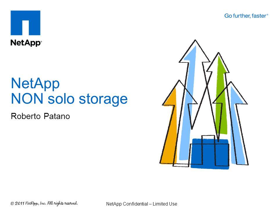 NetApp NON solo storage