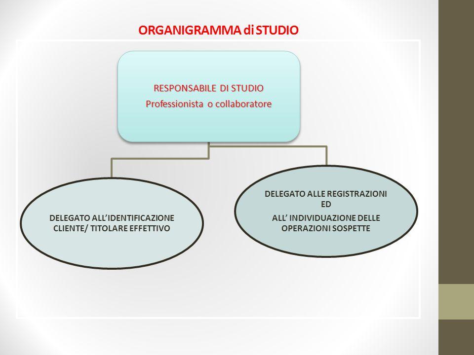 ORGANIGRAMMA di STUDIO