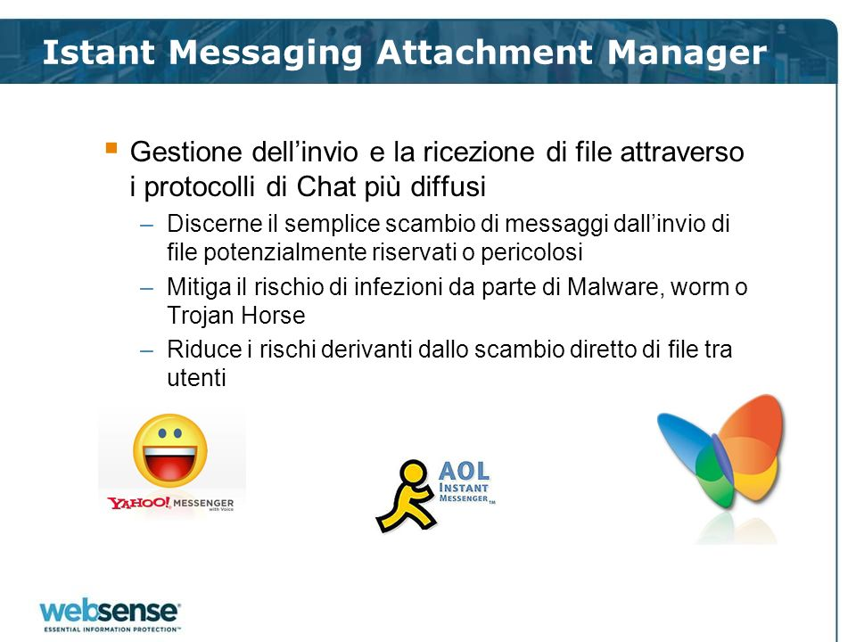 Istant Messaging Attachment Manager