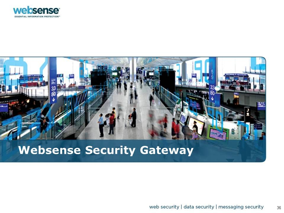 Websense Security Gateway