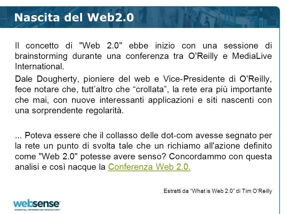 Nascita del Web2.0