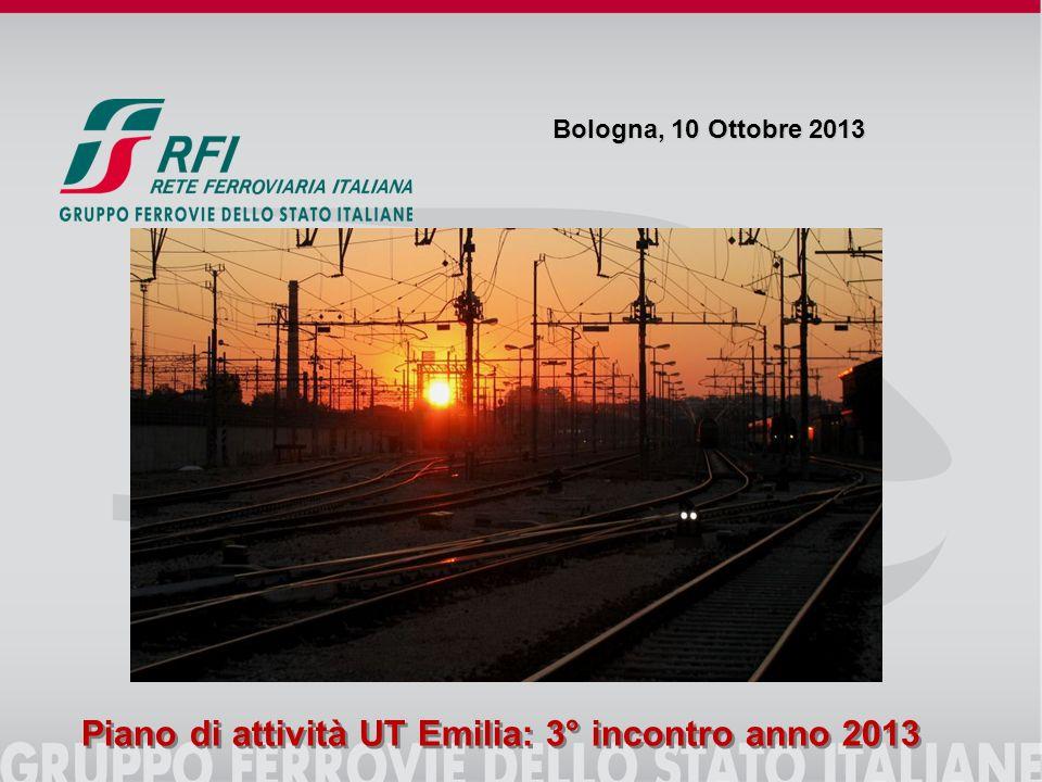 Piano di attività UT Emilia: 3° incontro anno 2013