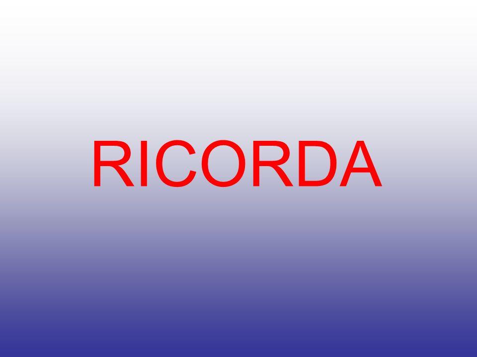 RICORDA