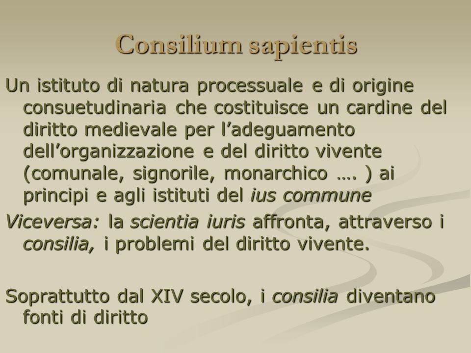 Consilium sapientis