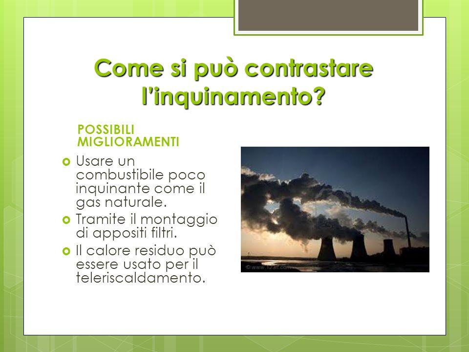 Come si può contrastare l'inquinamento
