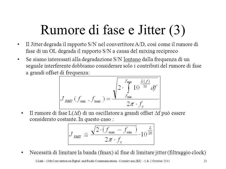 Rumore di fase e Jitter (3)