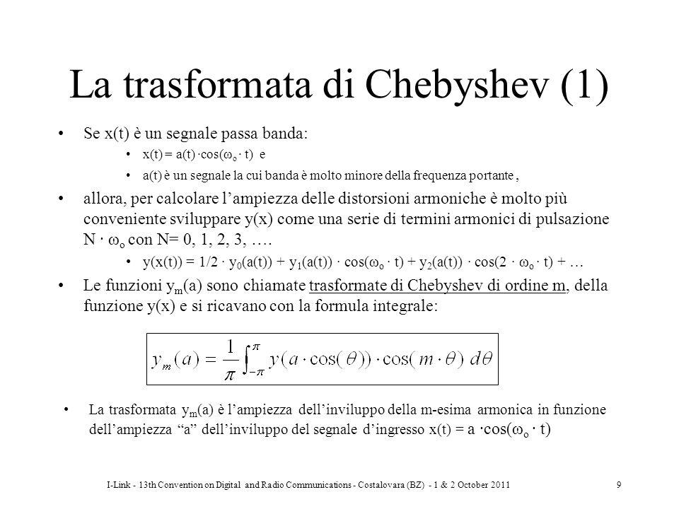 La trasformata di Chebyshev (1)