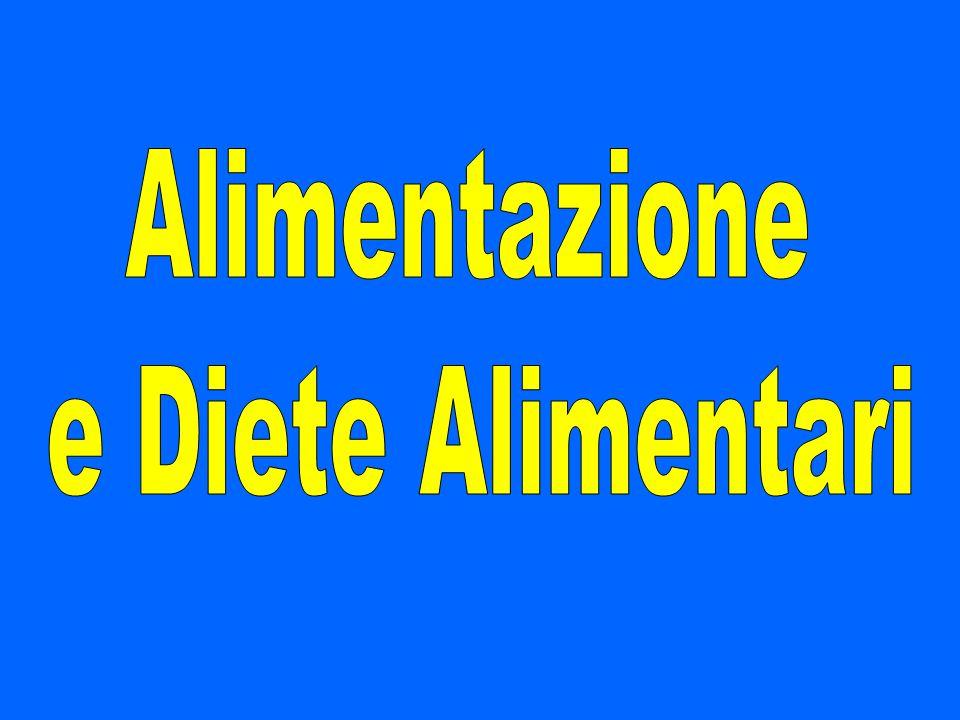 Alimentazione e Diete Alimentari