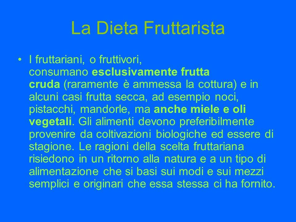 La Dieta Fruttarista