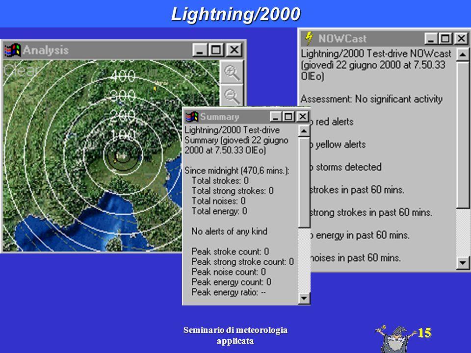 Seminario di meteorologia applicata