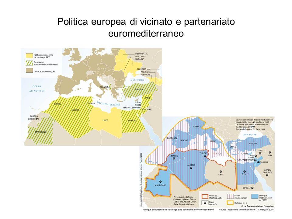 Politica europea di vicinato e partenariato euromediterraneo