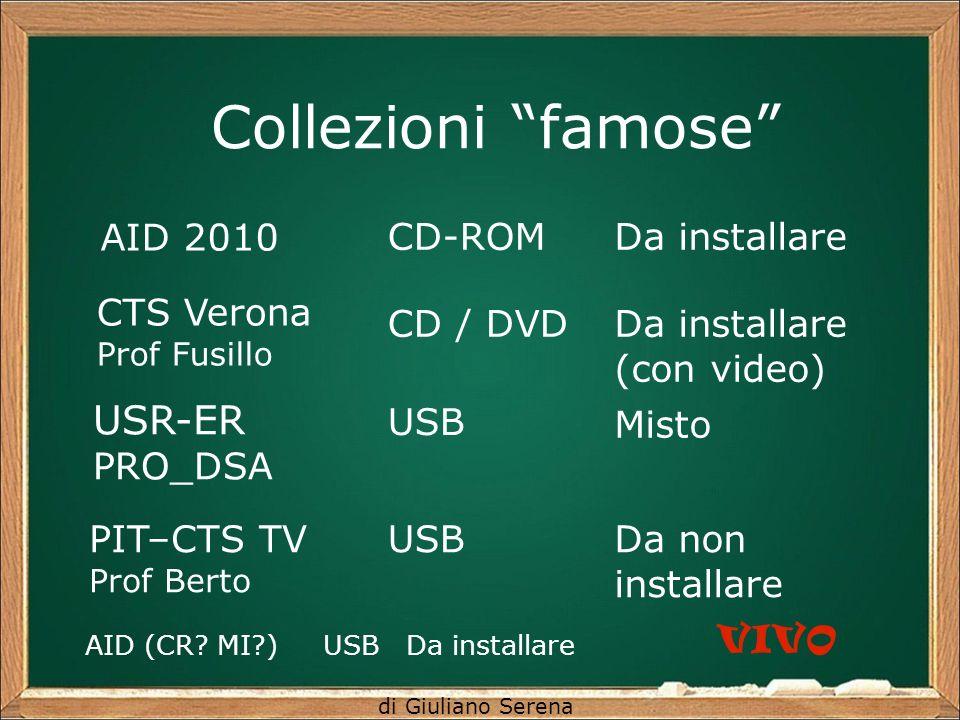 Collezioni famose USR-ER AID 2010 CD-ROM Da installare CTS Verona