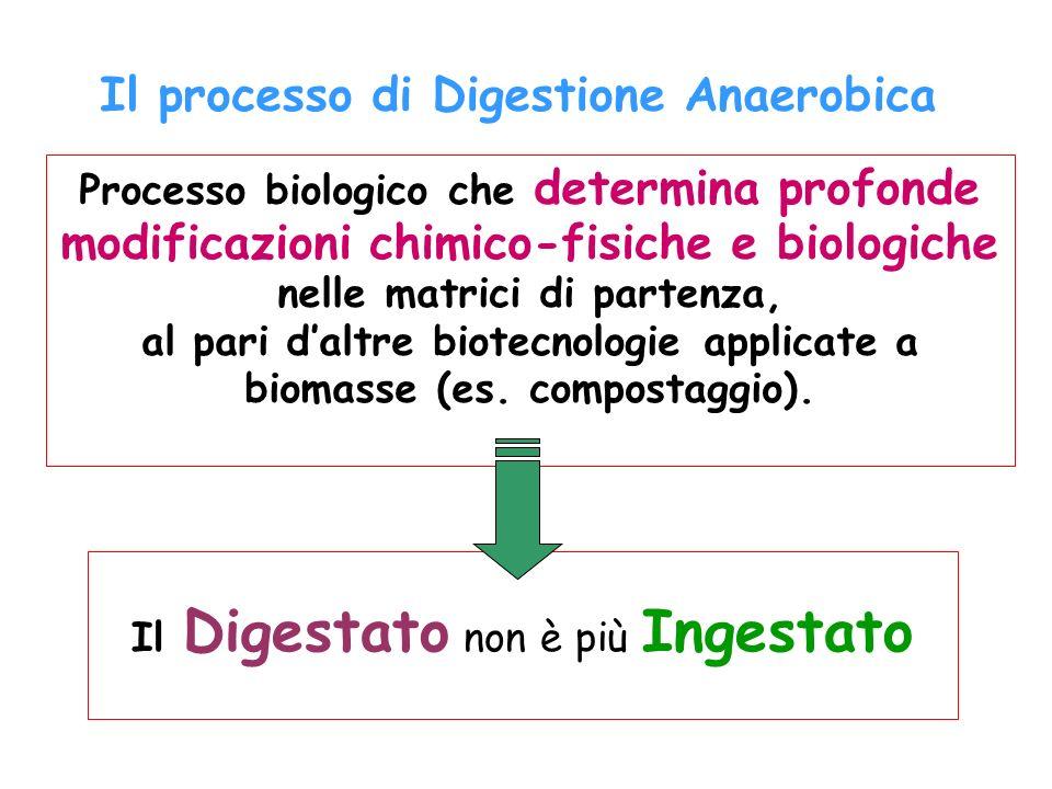 Il processo di Digestione Anaerobica