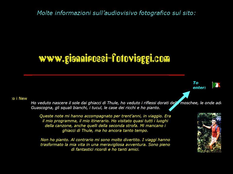 Molte informazioni sull'audiovisivo fotografico sul sito: