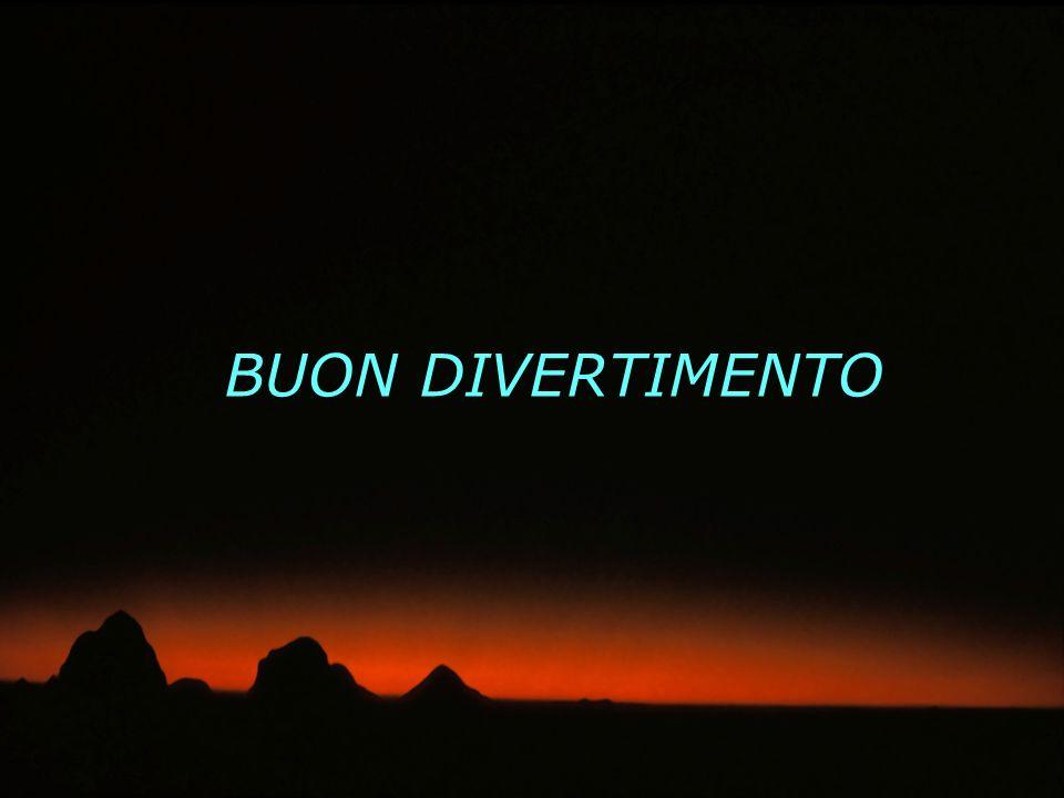 BUON DIVERTIMENTO