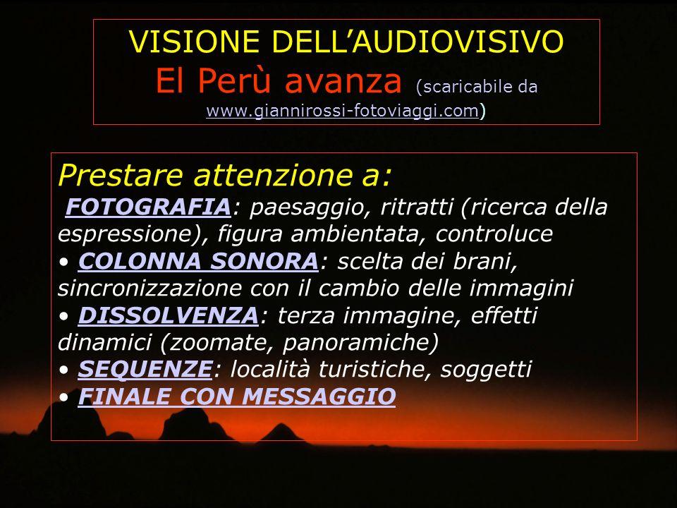 El Perù avanza (scaricabile da www.giannirossi-fotoviaggi.com)