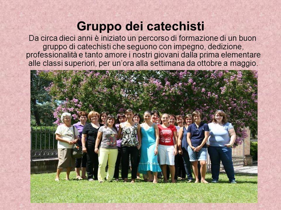 Gruppo dei catechisti