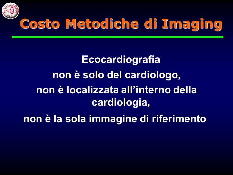 Costo Metodiche di Imaging