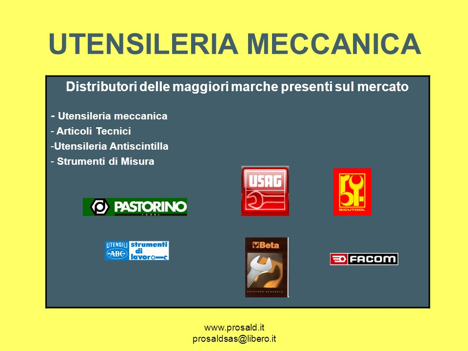 UTENSILERIA MECCANICA