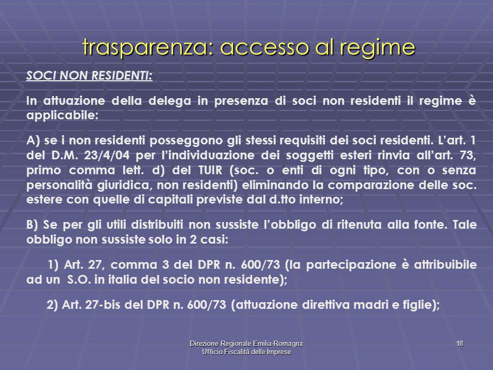 La trasparenza delle societa di capitali ppt scaricare - Art 16 bis del tuir ...