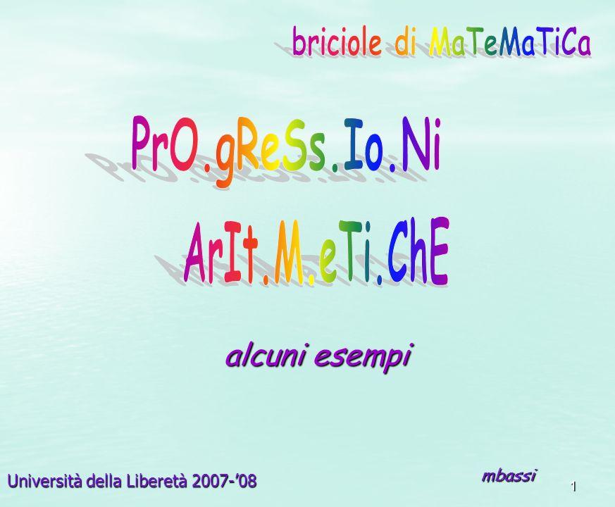 briciole di MaTeMaTiCa