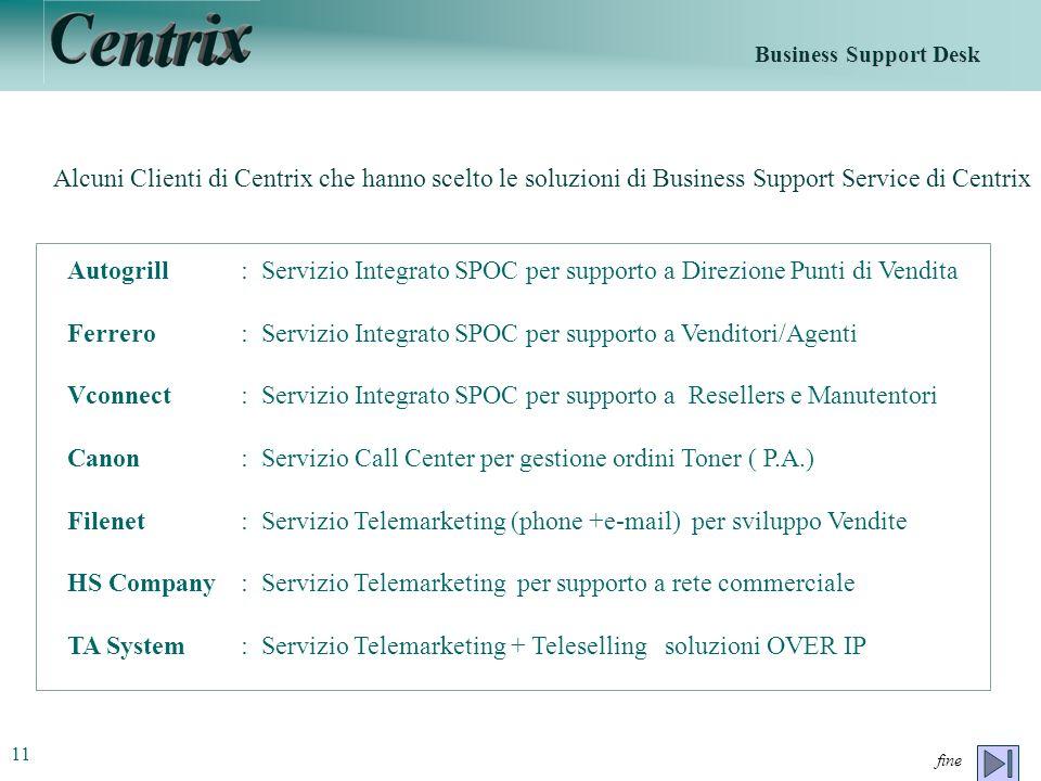 Ferrero : Servizio Integrato SPOC per supporto a Venditori/Agenti