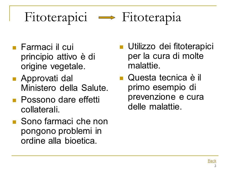Fitoterapici Fitoterapia