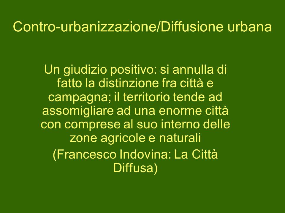 Contro-urbanizzazione/Diffusione urbana