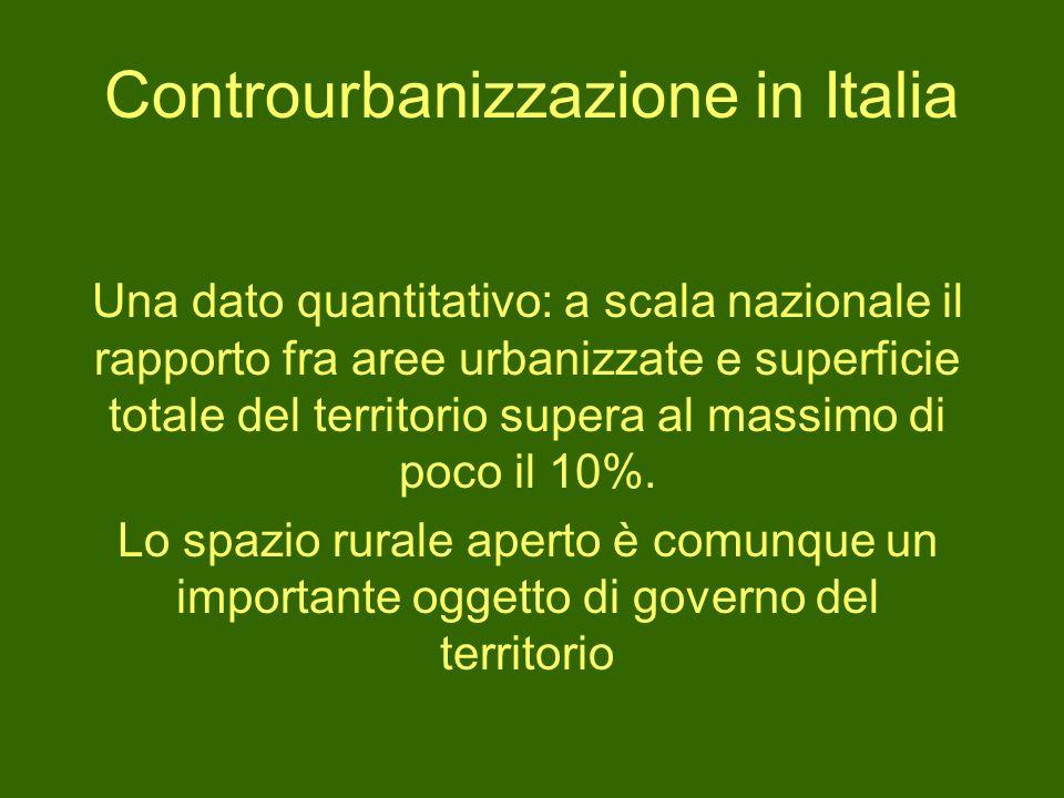 Controurbanizzazione in Italia