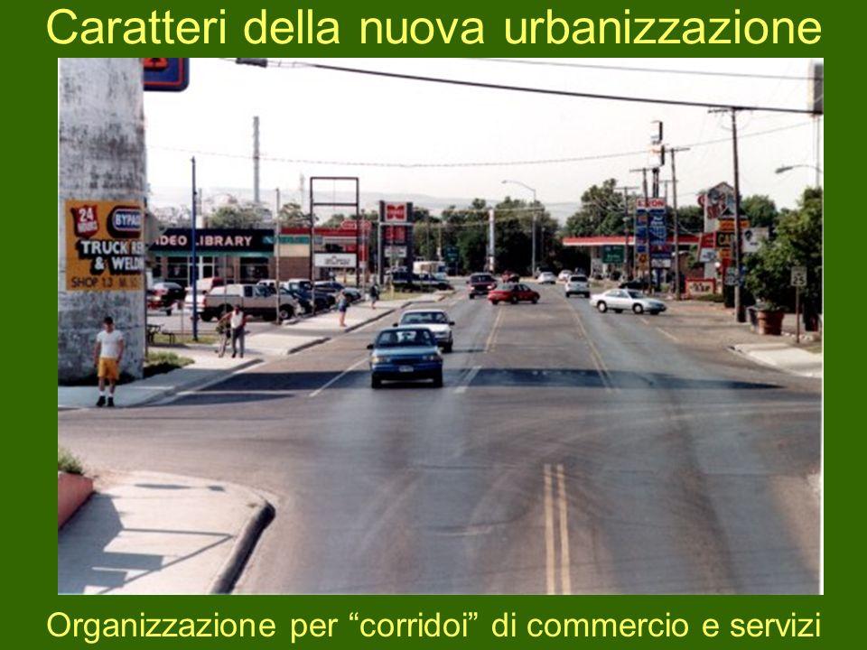 Caratteri della nuova urbanizzazione