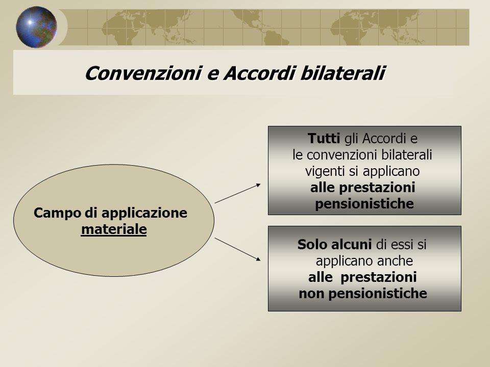 Convenzioni e Accordi bilaterali