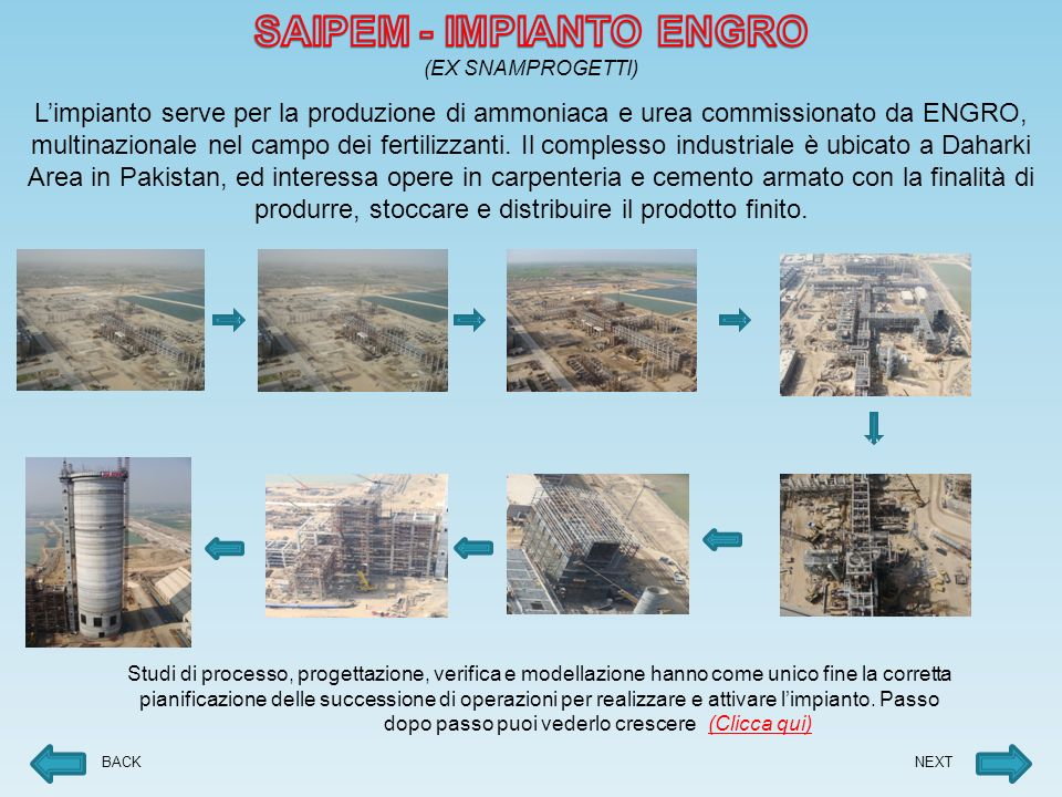 SAIPEM - IMPIANTO ENGRO