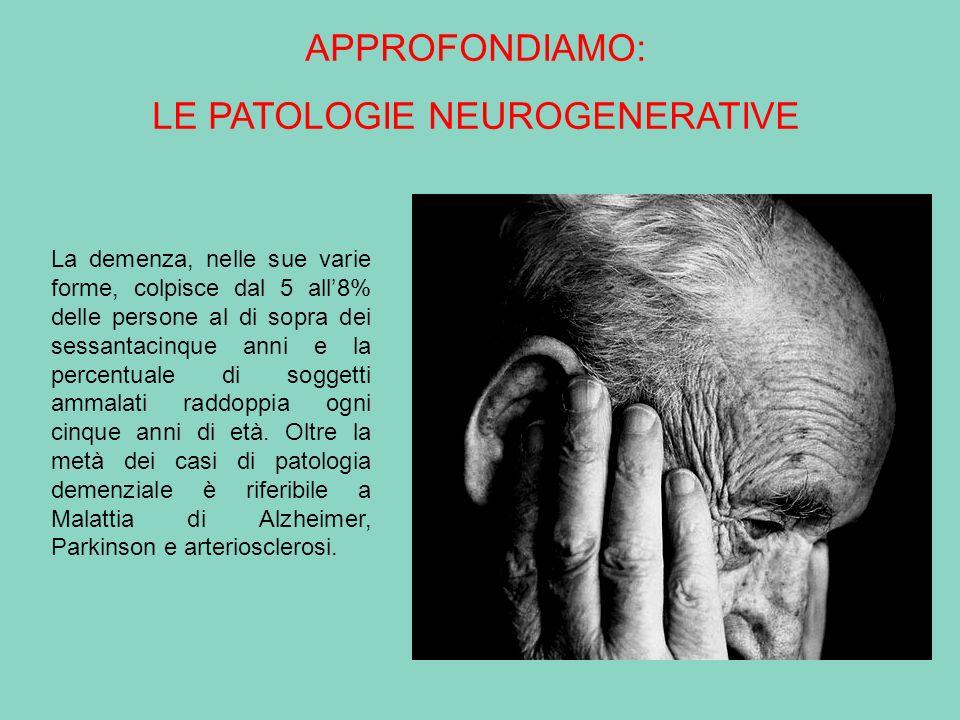 LE PATOLOGIE NEUROGENERATIVE