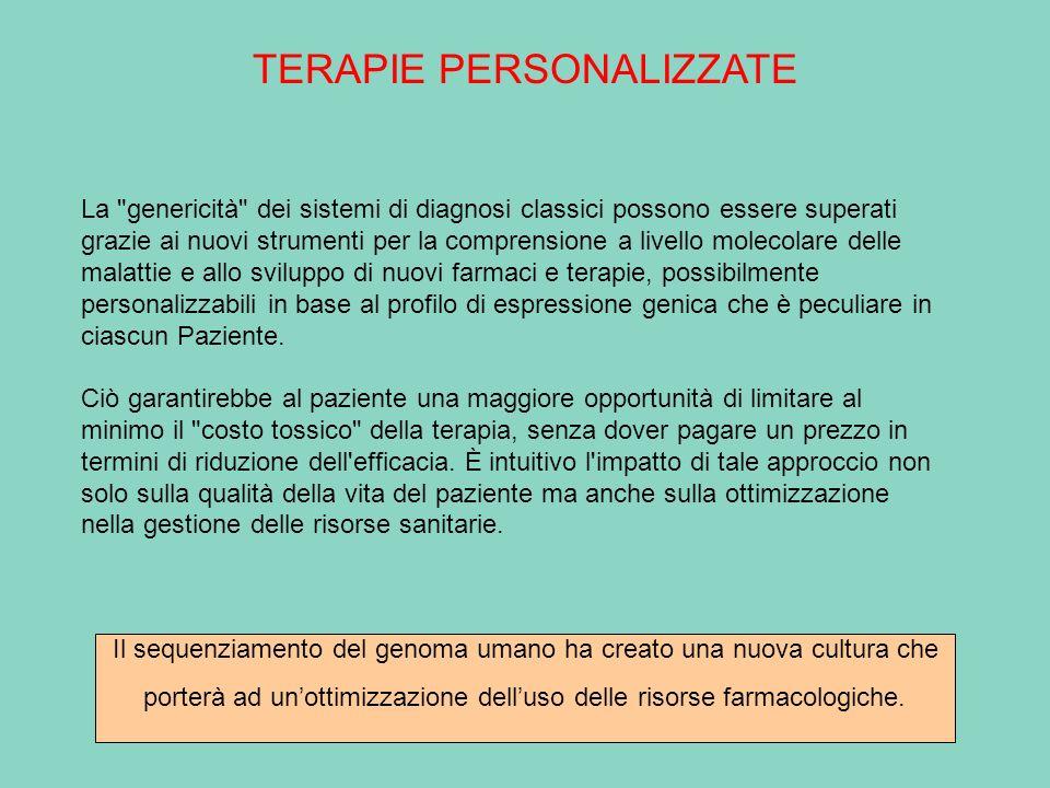 TERAPIE PERSONALIZZATE