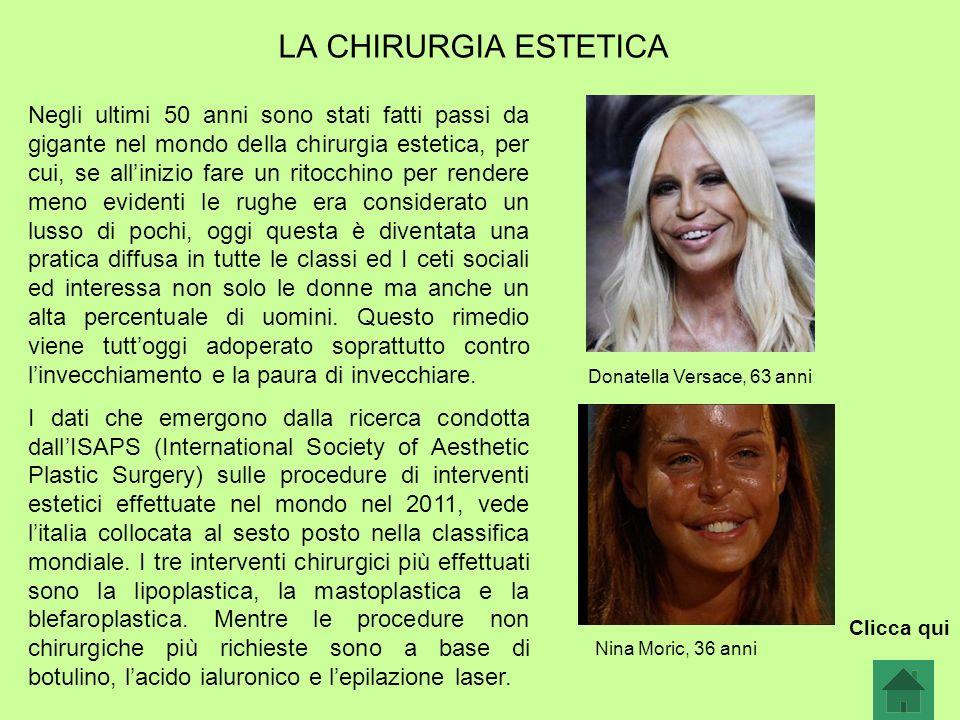 LA CHIRURGIA ESTETICA
