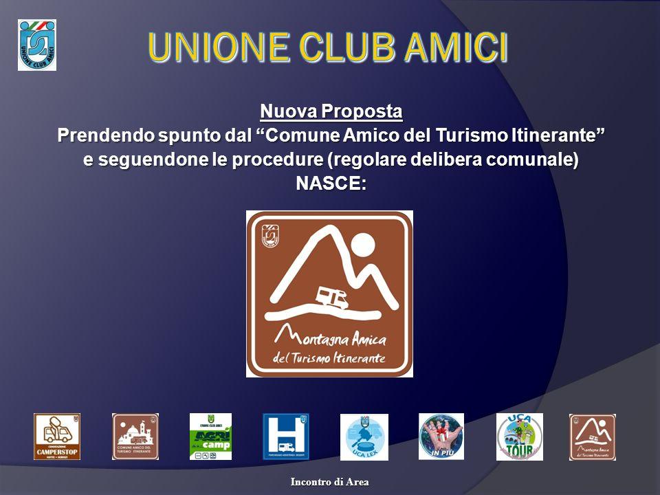 UNIONE CLUB AMICI Nuova Proposta