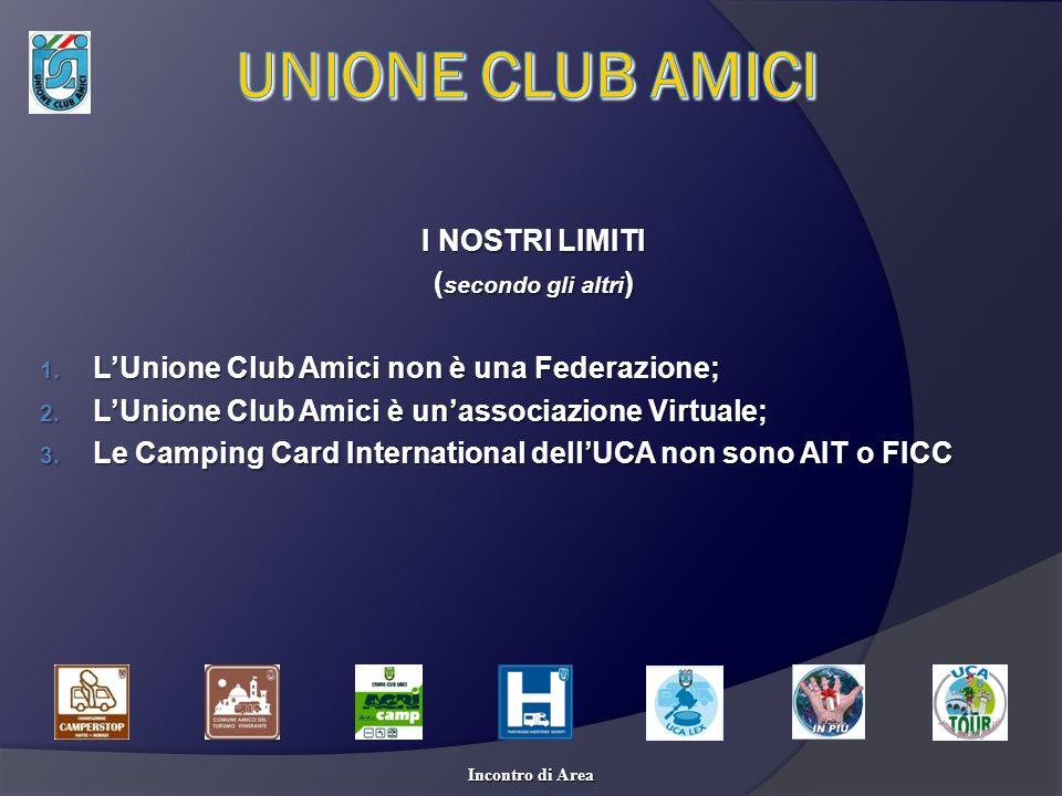 UNIONE CLUB AMICI I NOSTRI LIMITI (secondo gli altri)