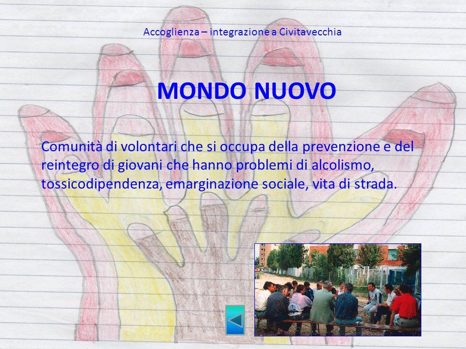 Accoglienza – integrazione a Civitavecchia