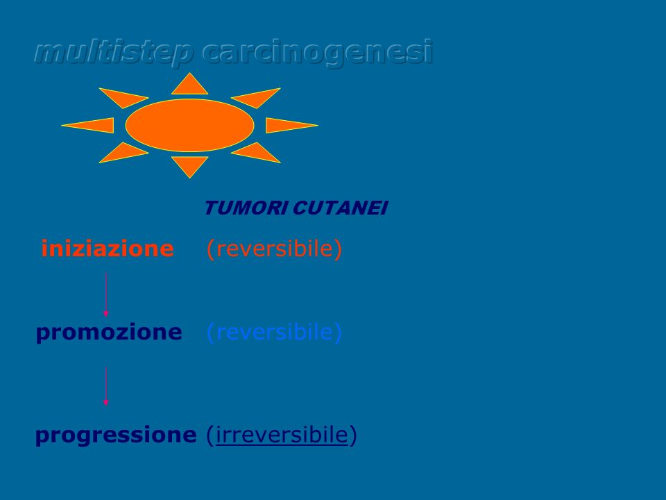 multistep carcinogenesi