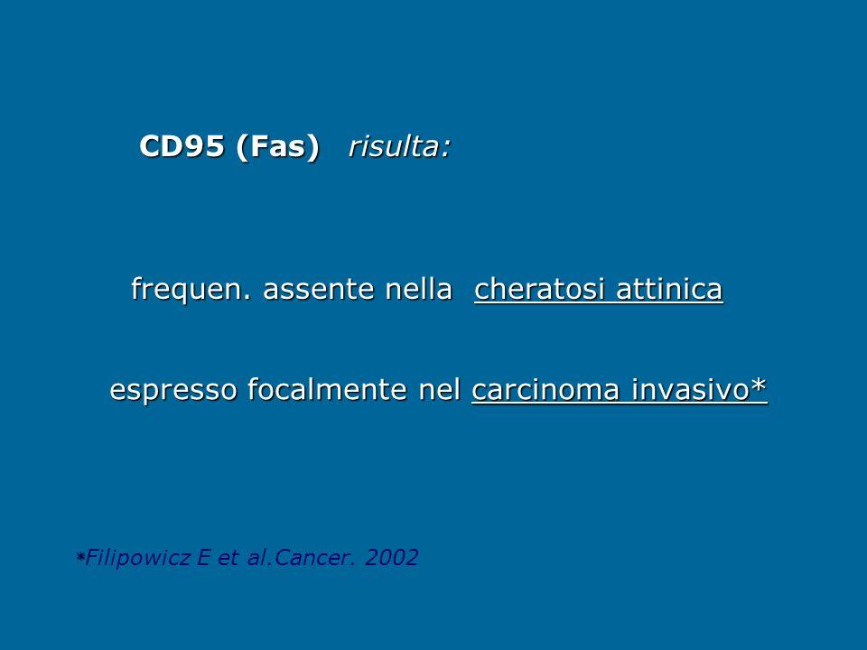 espresso focalmente nel carcinoma invasivo*
