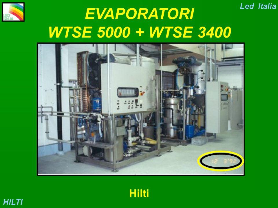 EVAPORATORI WTSE 5000 + WTSE 3400