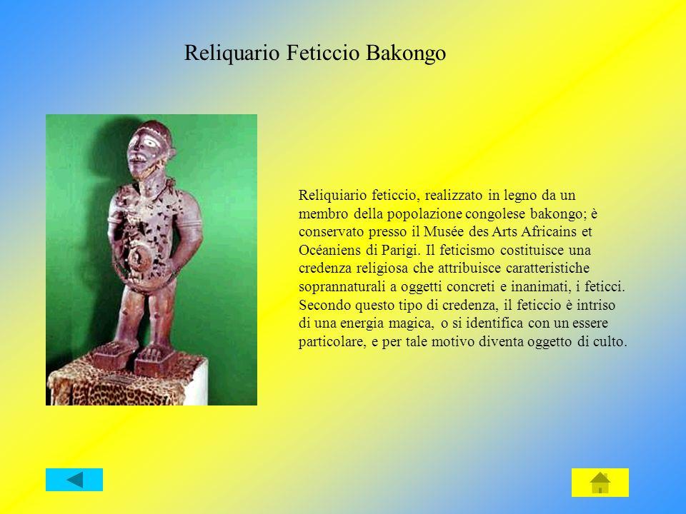Reliquario Feticcio Bakongo