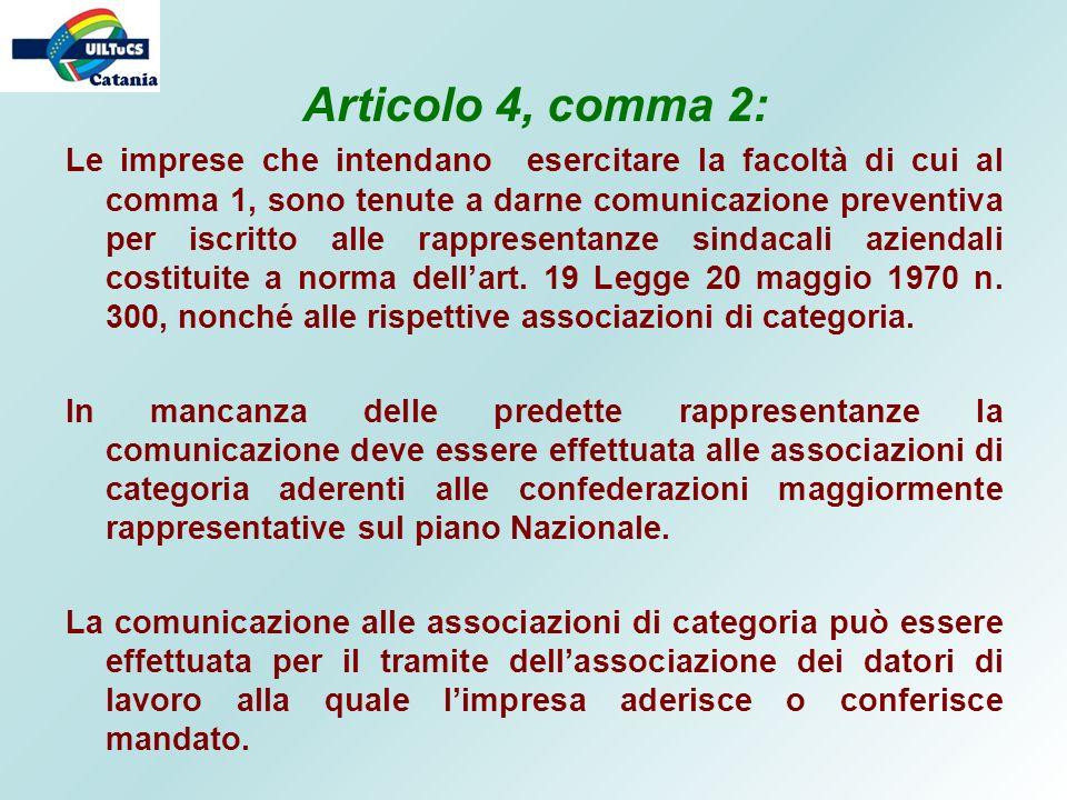 Articolo 4, comma 2: