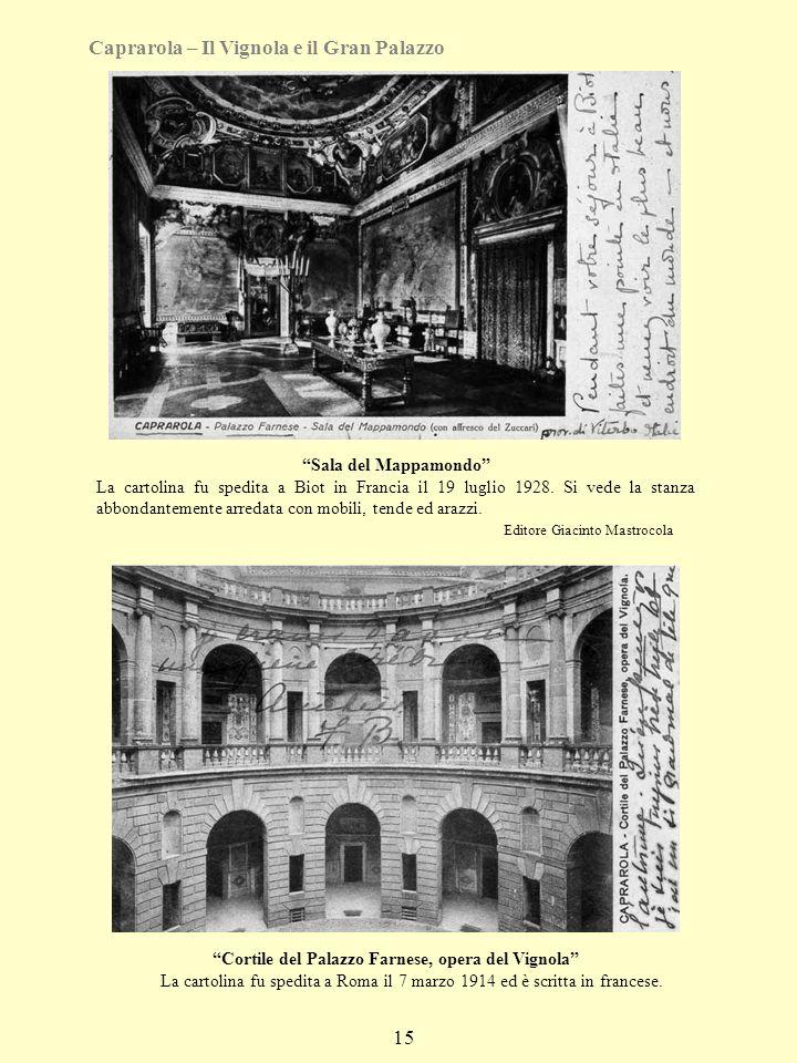 Cortile del Palazzo Farnese, opera del Vignola