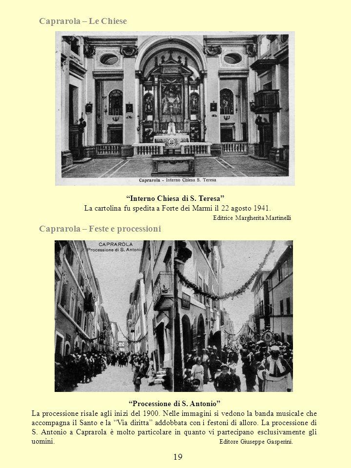 Caprarola – Feste e processioni