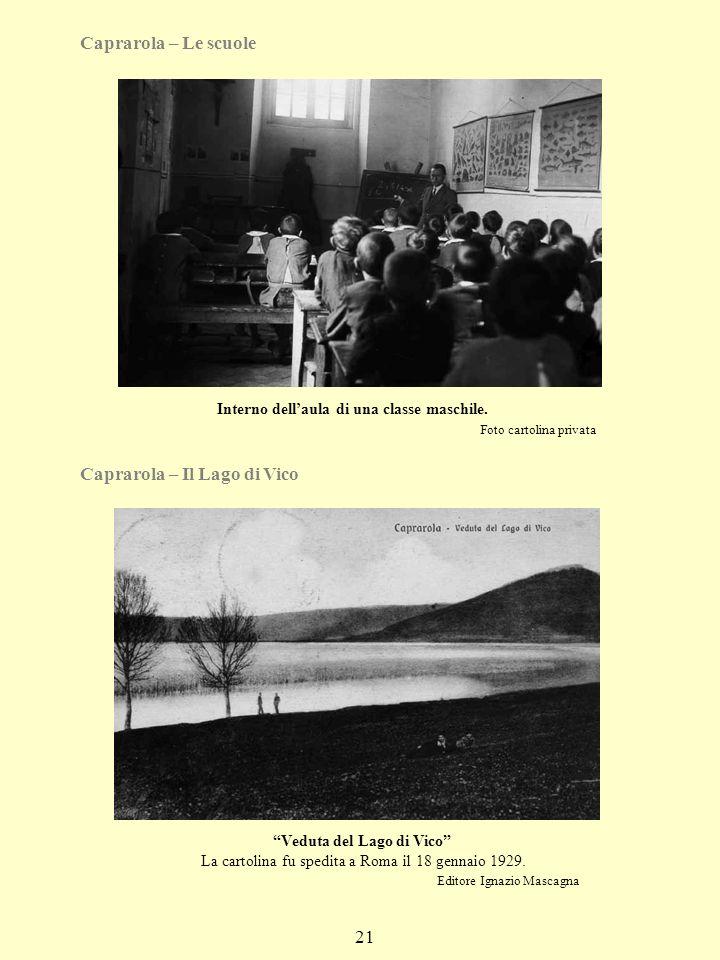 Caprarola – Il Lago di Vico