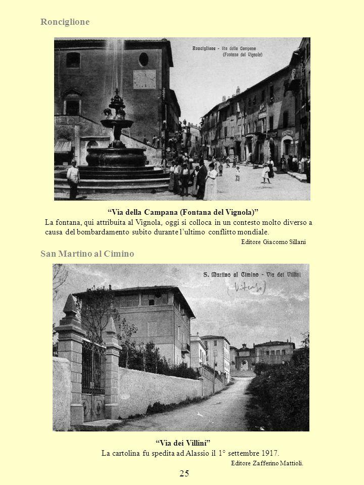 Via della Campana (Fontana del Vignola)