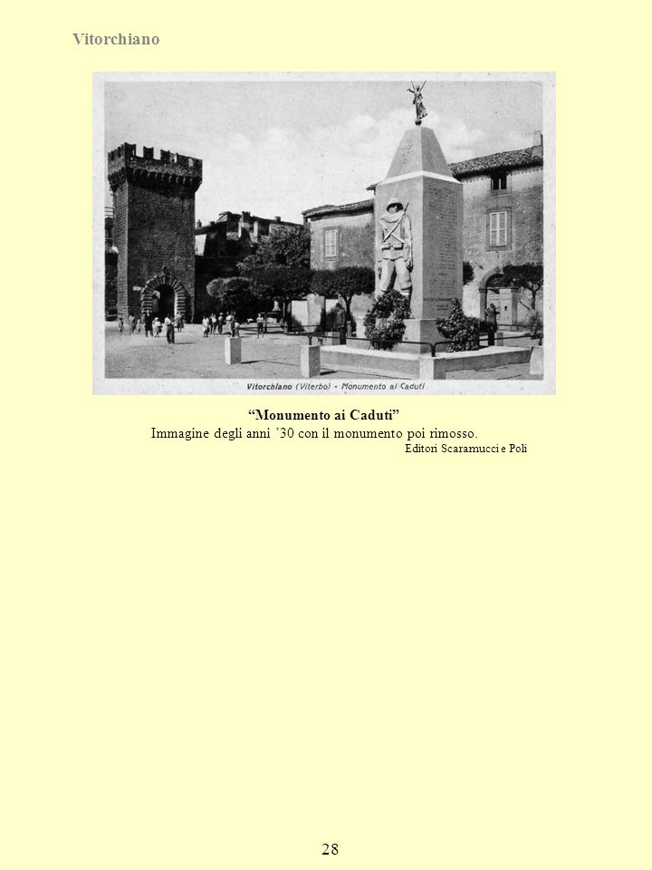 Vitorchiano 28 Monumento ai Caduti