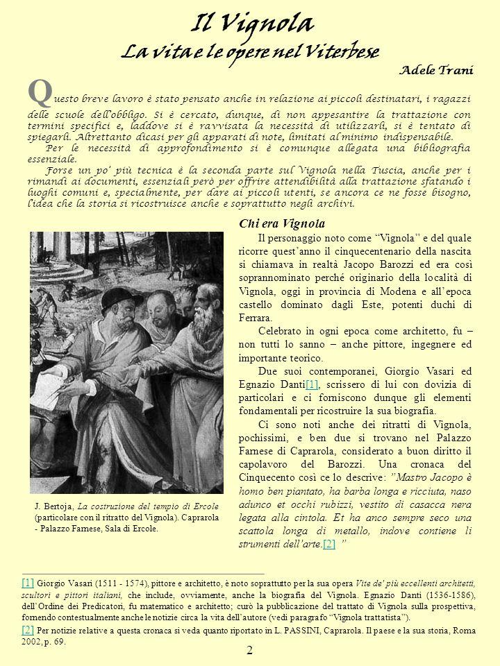 La vita e le opere nel Viterbese