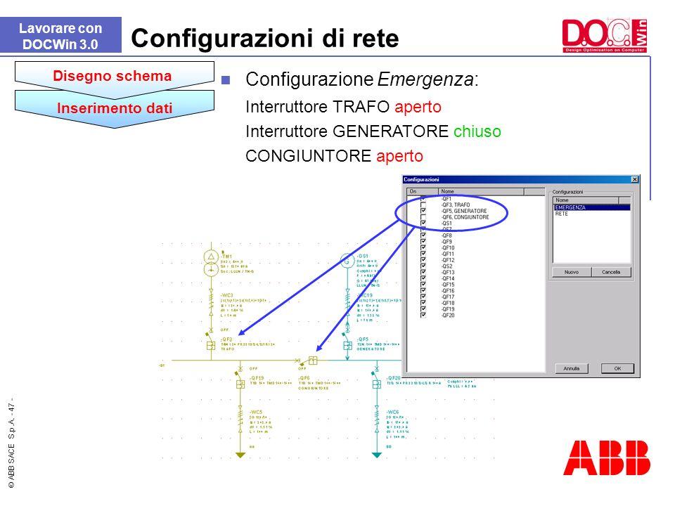 Configurazioni di rete